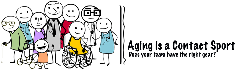 Aging Is a Contact Sport
